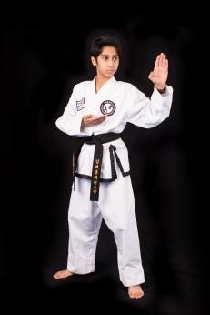 Gaurav C. 2nd Dan Black Belt. Training since 2011.