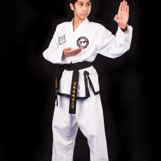 Gaurav C. 2nd Dan Black Belt. Training since 2011.