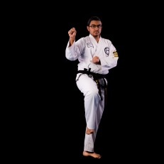 Srijan S. 2nd Dan Black Belt. Training since 2010.