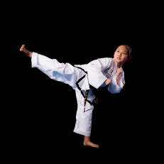 Jasmine Y. 2nd Dan Black Belt. Training since 2010.