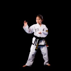I started TKD when I was five years old, and benefitted by developing self control. I am now a second dan and a Youth Leader. I continue this passion of TKD with my twin sister Jasmine Yee who is also a second degree. Another hobby I continue to do is dance and band.