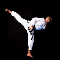 Arnav G. 2nd Dan Black Belt.