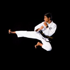 Shrujal A. 3rd Dan Black Belt. Training since 2009.