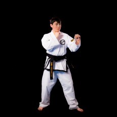 I have been doing Taekwondo for 6 years and my favorite thing about it is being able to help others, learning self control and being able to get in better shape.
