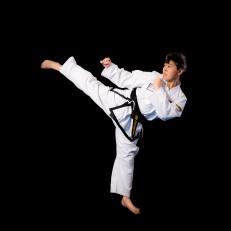 Luke U. 2nd Dan Black Belt. Training since 2012.