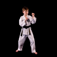 Michael E. 2nd Dan Black Belt. Training since 2011.