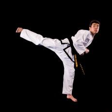 Joey U. 2nd Dan Black Belt. Training since 2010.