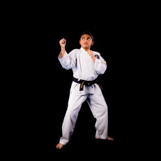 Aniketh M. 1st Dan Black Belt. Training since 2011.