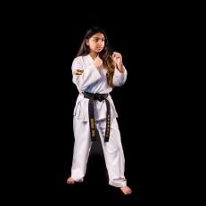 Maanya L. 1st Dan Black Belt.